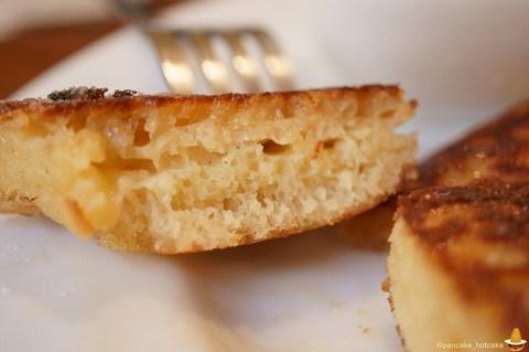 ちょいフワ、サクサク、カリカリでバター&メープルが生地からジュワ~な絶品ユニークなパンケーキ♪cafe maru(カフェ マル)奈良/近鉄奈良 パンケーキマン