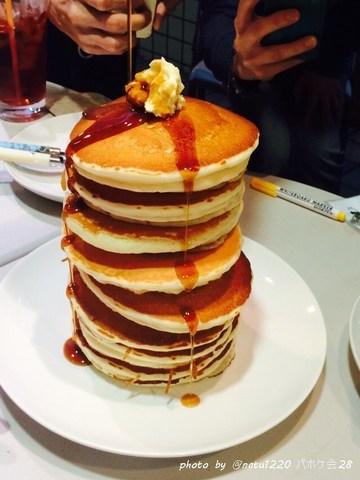 【特別編】<速報03>パホケ会28 ハプナ カフェにて開催!パンケーキタワーは・・・いつもより!?パンケーキマン